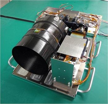 超小型衛星搭載用ハイパースペクトルカメラ「HSC」