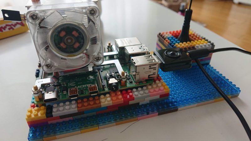 Raspberry Pi4 + nanoblock