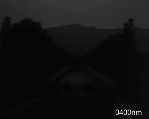 ハイパースペクトルイメージ:400nm