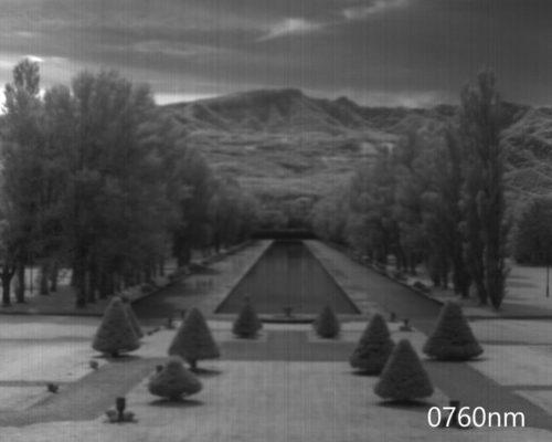 ハイパースペクトルイメージ:760nm