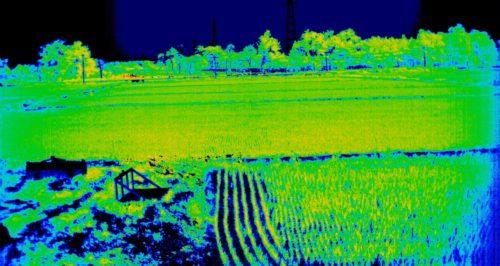 2016年7月01日江別市における田んぼのスペクトル計測-NDVI--